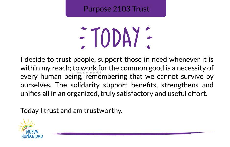 Purpose 2103 Trust