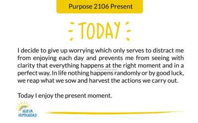 Purpose 2106 Present