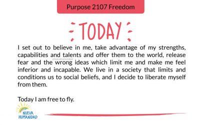 Purpose 2107 Freedom