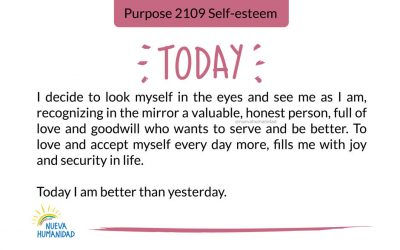 Purpose 2109 Self-esteem