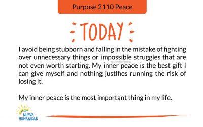 Purpose 2110 Peace