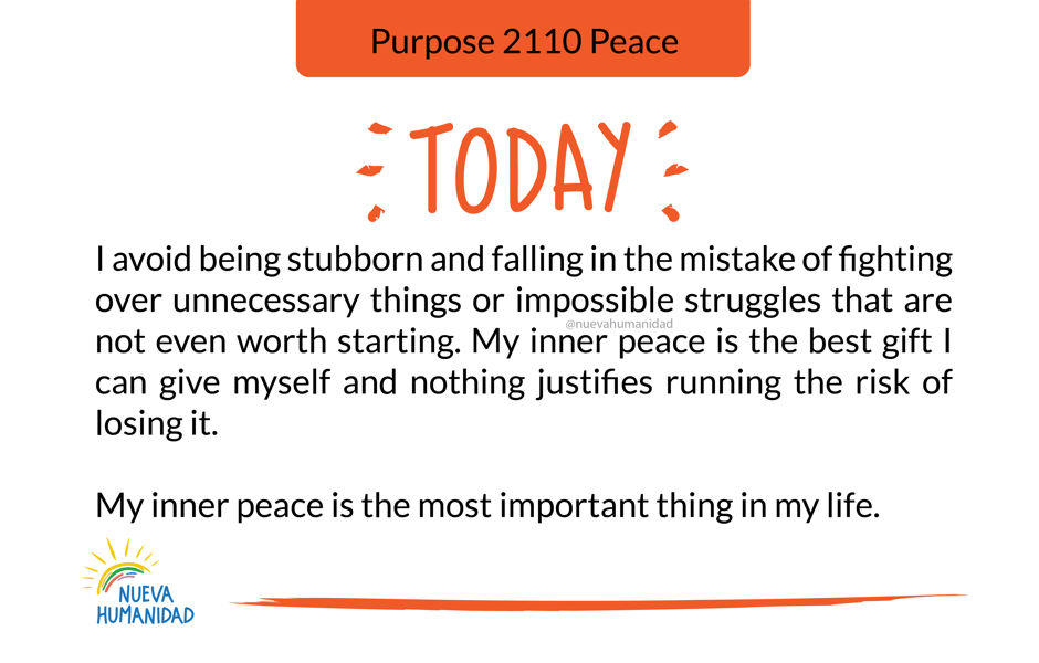 Purpose 2110 Peace