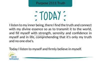 Purpose 2111 Truth