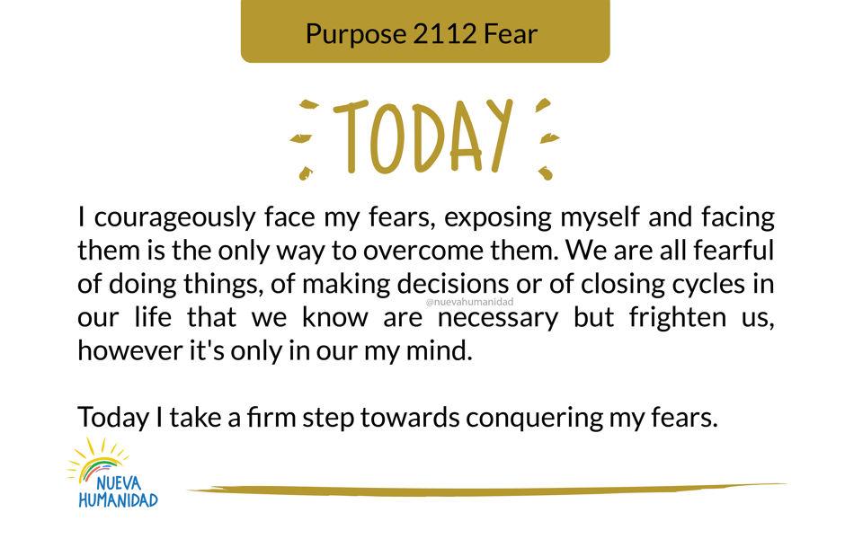 Purpose 2112 Fear
