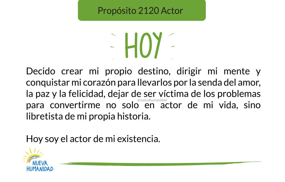 Propósito 2120 Actor