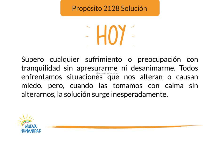 Propósito 2128 Solución