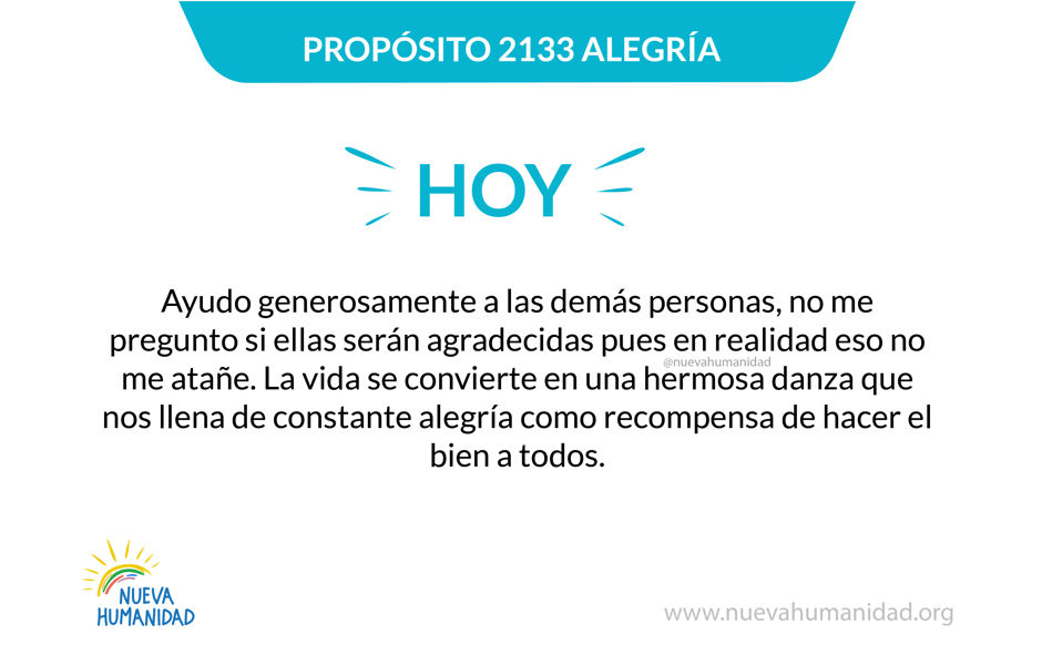 Propósito 2133 Alegría