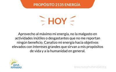 Propósito 2135 Energía