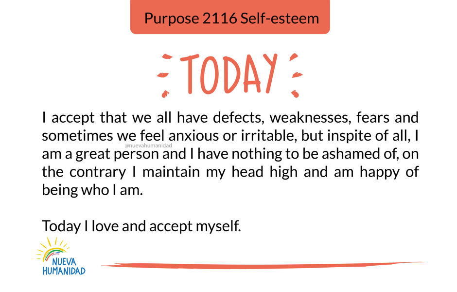 Purpose 2116 Self-esteem