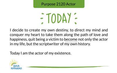 Purpose 2120 Actor