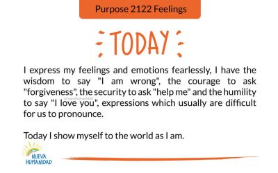 Purpose 2122 Feelings