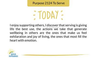 Purpose 2124 To Serve
