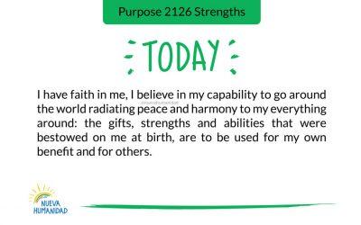 Purpose 2126 Strengths