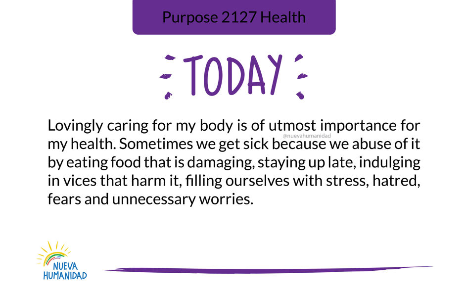 Purpose 2127 Health