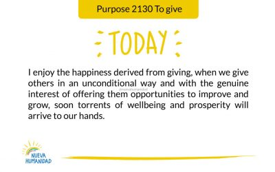 Purpose 2130 To give