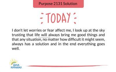 Purpose 2131 Solution