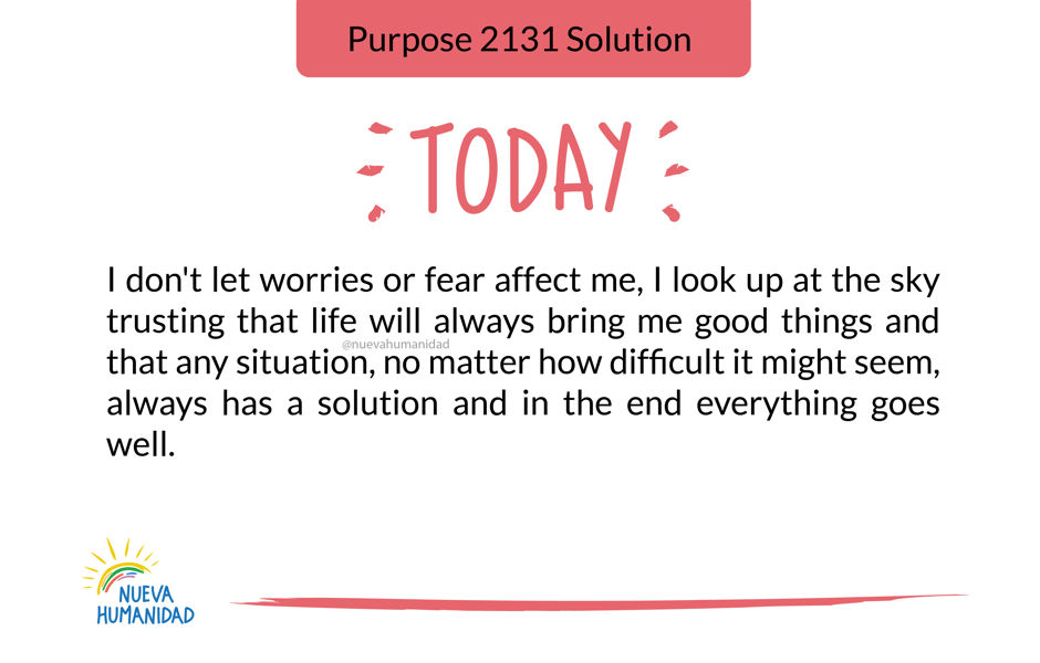 Purpose 2131 Solution