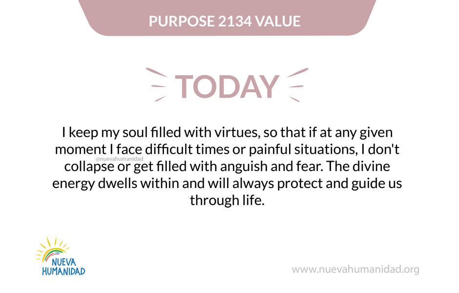 Purpose 2134 Value