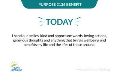 Purpose 2136 Benefit