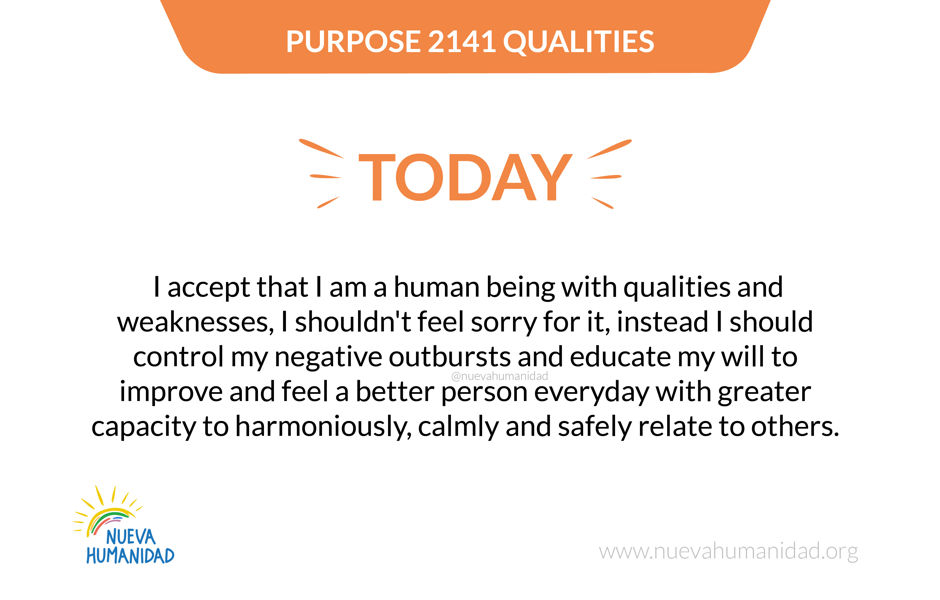 Purpose 2141 Qualities