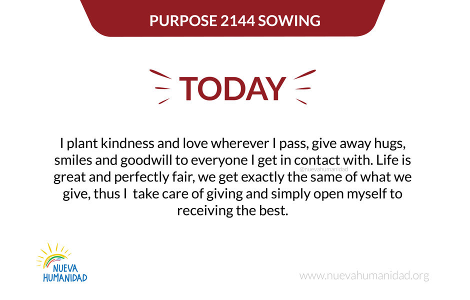 Purpose 2144 Sowing