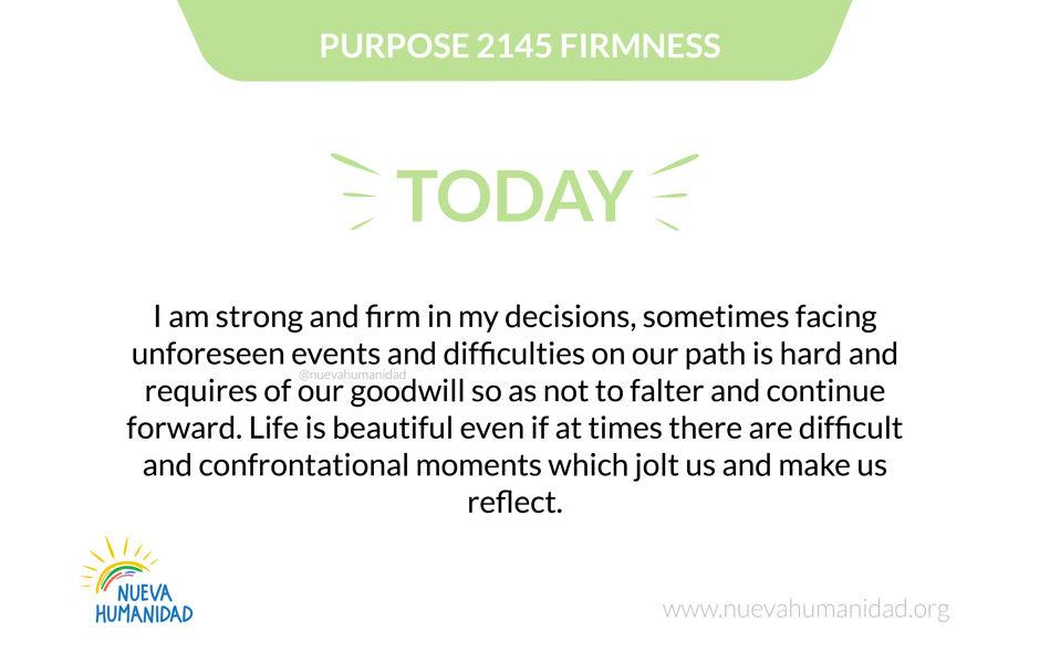 Purpose 2145 Firmness