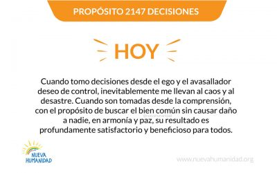 Propósito 2147 Decisiones