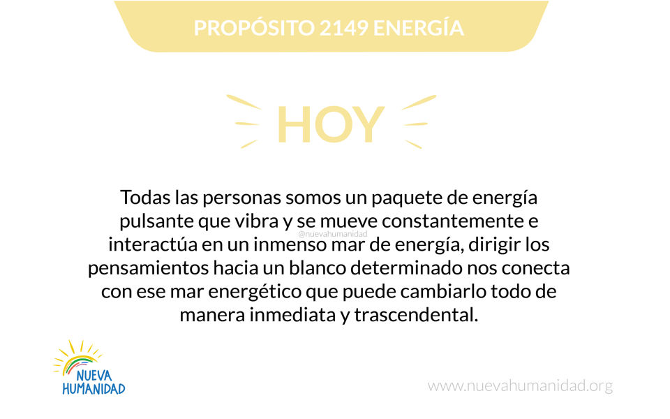 Propósito 2149 Energía