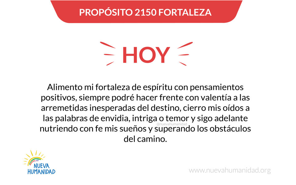 Propósito 2150 Fortaleza