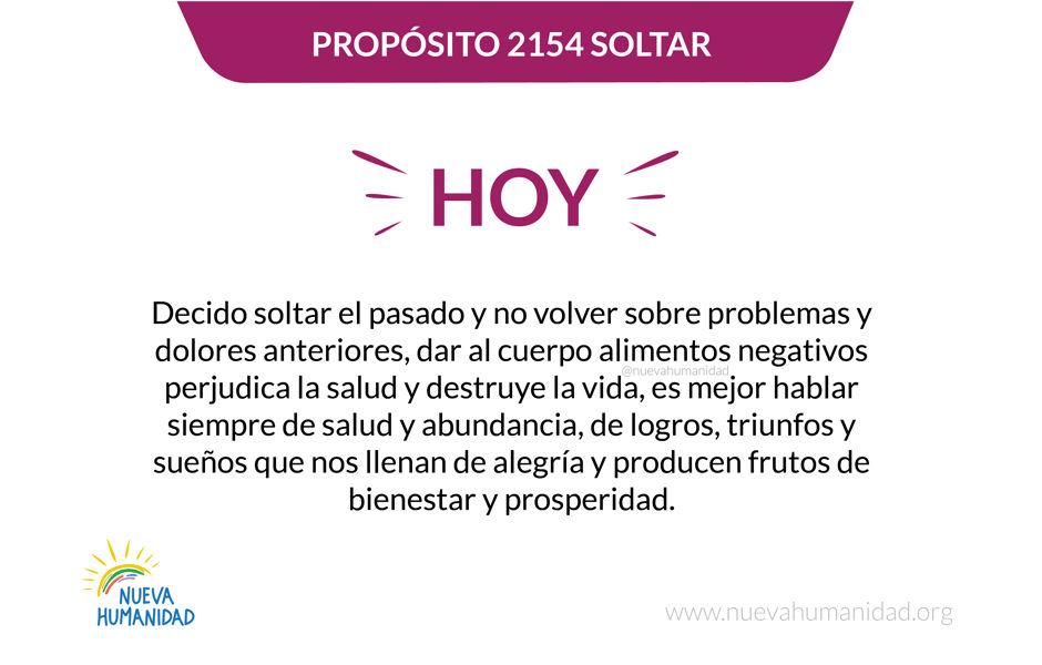 Propósito 2154 Soltar