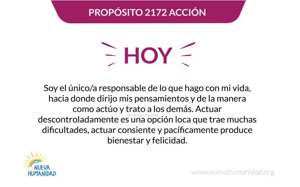 Propósito 2172 Acción