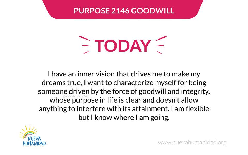 Purpose 2146 Goodwill