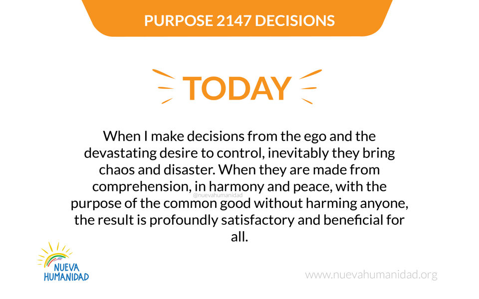 Purpose 2147 Decisions