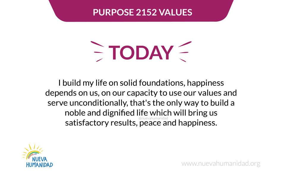 Purpose 2152 Values