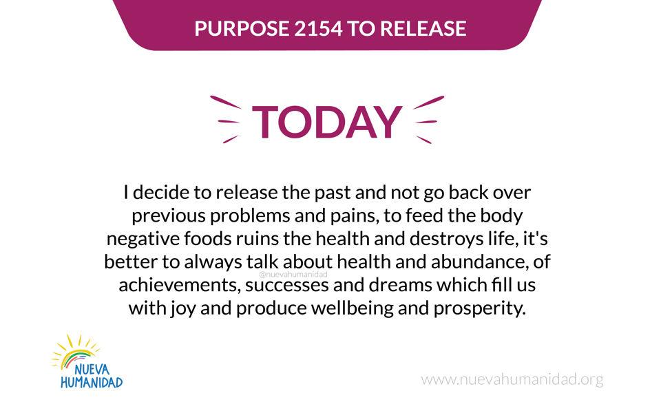 Purpose 2154 To release