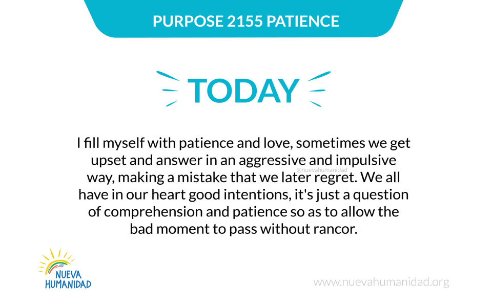 Purpose 2155 Patience