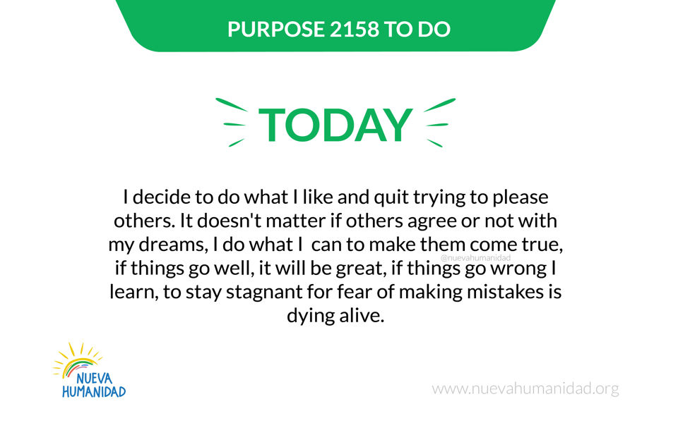 Purpose 2158 To do
