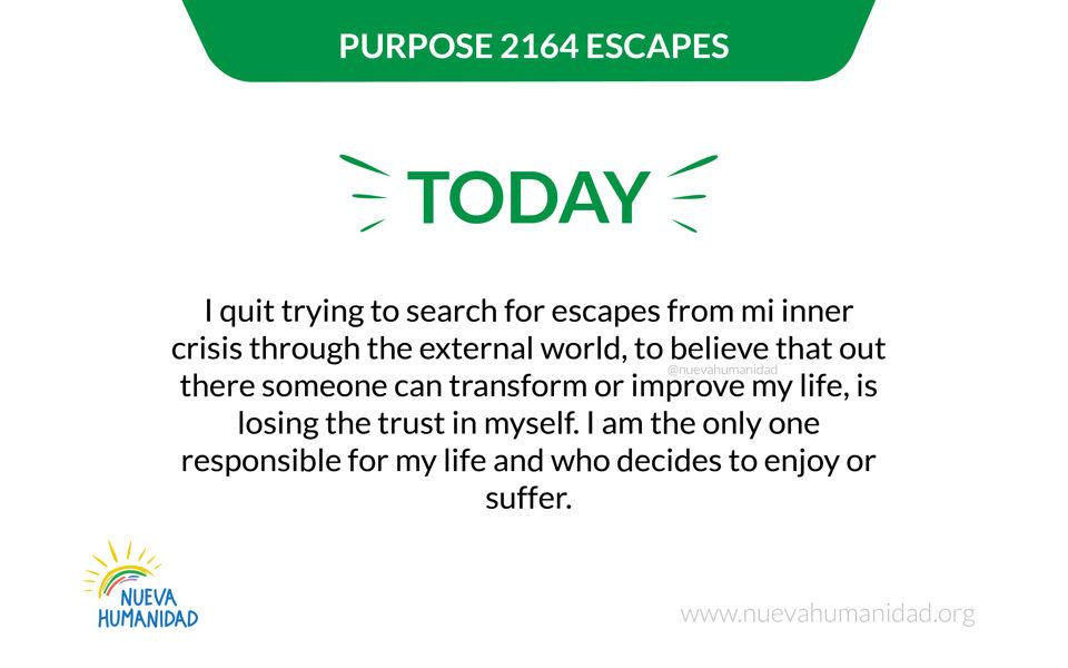 Purpose 2164 Escapes