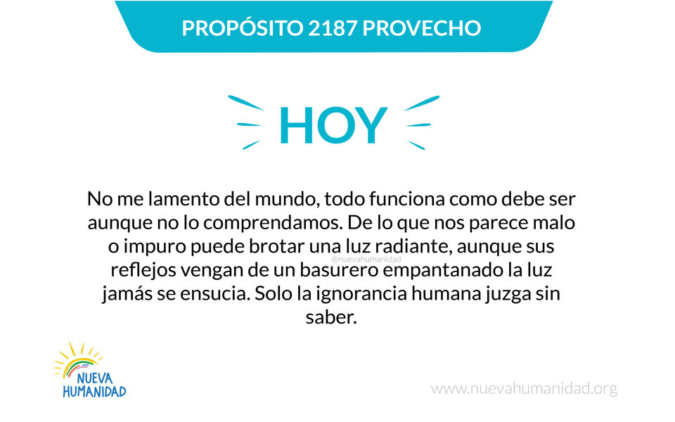 Propósito 2188 Luz