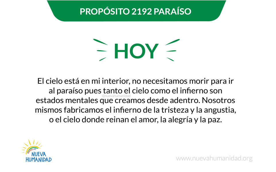 Propósito 2192 Paraíso