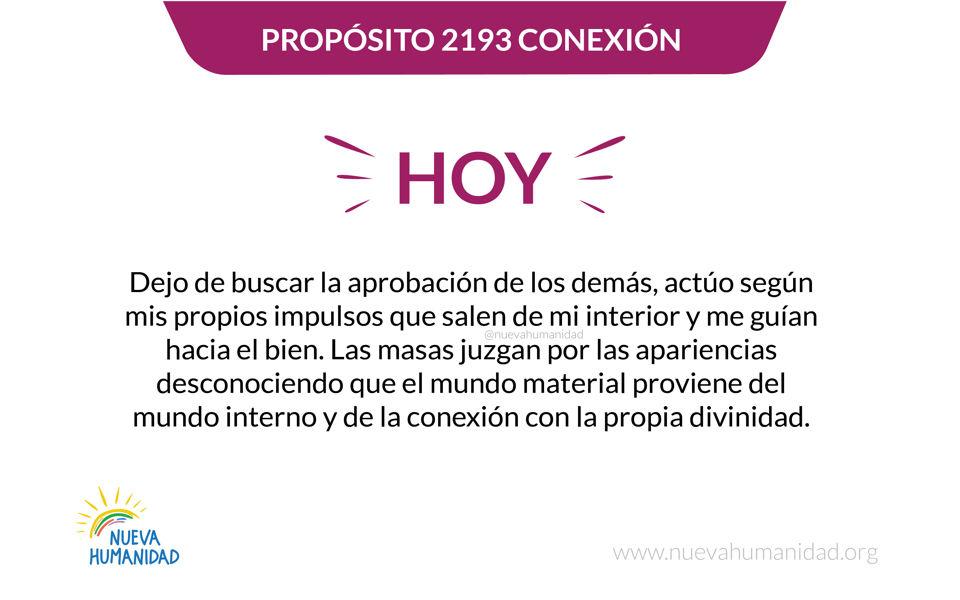 Propósito 2193 Conexión