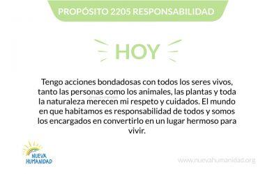 Propósito 2205 Responsabilidad