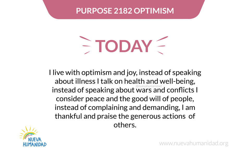 Purpose 2182 Optimism