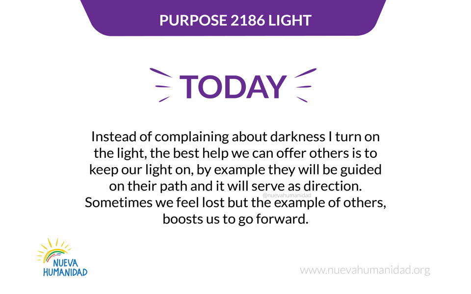 Purpose 2186 Light