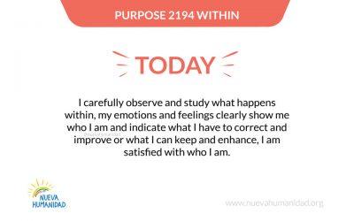 Purpose 2194 Within