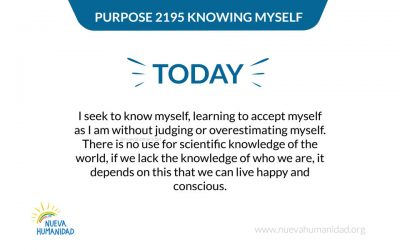 Purpose 2195 Knowing myself