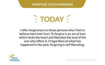 Purpose 2197 Forgiveness