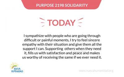 Purpose 2198 Solidarity