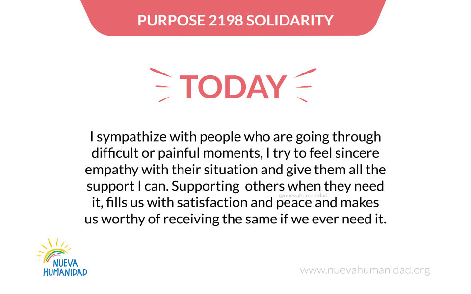 Purpose 2198 Solidarity