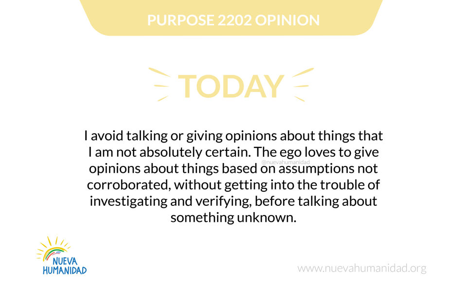 Purpose 2202 Opinion